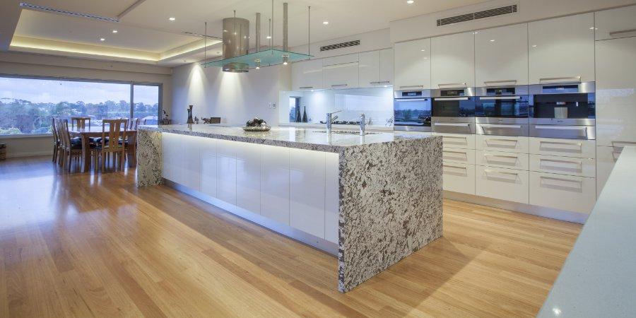flooring in kitchen - wood floors